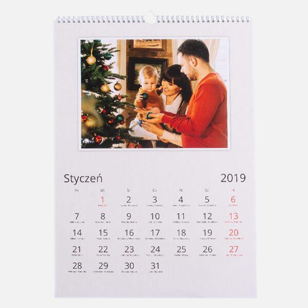 Fotokalendarz A3 Pion 1 sztuka