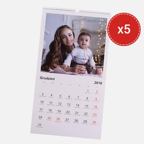 fotokalendarz XL 5 szt