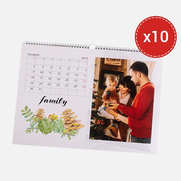 fotokalendarz pakiet 10szt