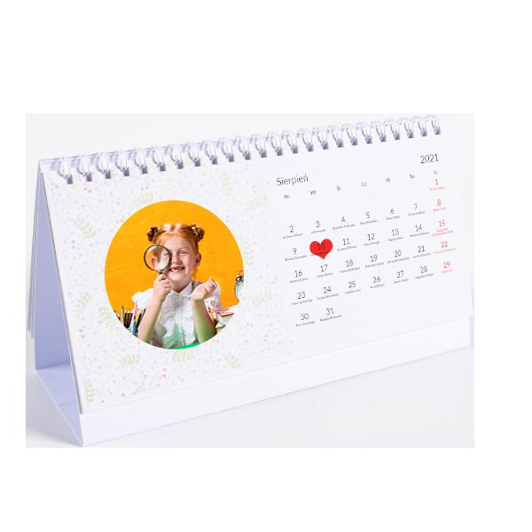 Fotokalendarz biurkowy A5